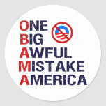 Un error tremendo grande, América Pegatina