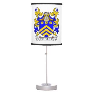 Un escudo de armas más atractivo (francés) lámpara de mesa