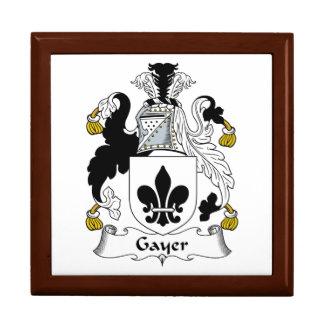 Un escudo más alegre de la familia caja de joyas