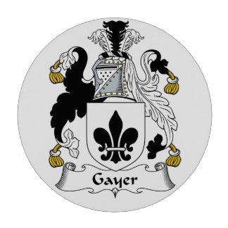 Un escudo más alegre de la familia fichas de póquer