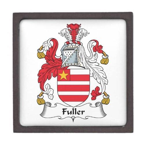 Un escudo más completo de la familia cajas de recuerdo de calidad