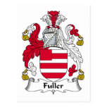 Un escudo más completo de la familia postales