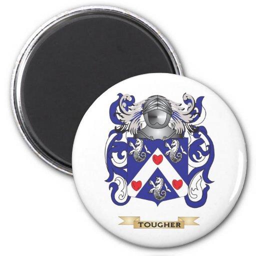 Un escudo más duro de la familia (escudo de armas) imán de frigorifico