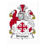 Un escudo más extraño de la familia tarjeta postal