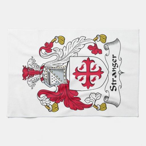 Un escudo más extraño de la familia toallas