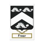 Un escudo más libre de la familia lona envuelta para galerías