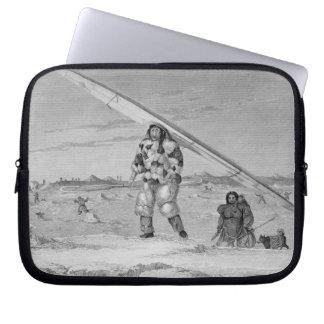 Un Eskimaux de Igloolik, llevando un jacke de la p Mangas Computadora