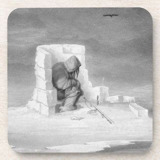 Un Eskimaux que mira un Sello-Agujero, del 'diario Posavaso