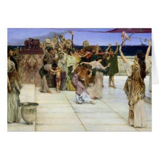 Un esmero al Bacchus 1889 Tarjeta