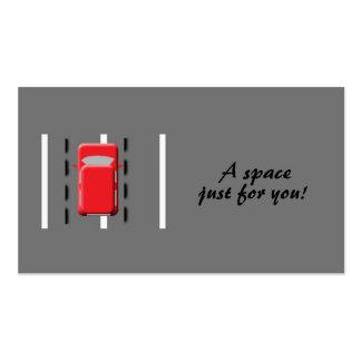 ¡Un espacio apenas para usted Plantilla De Tarjeta Personal