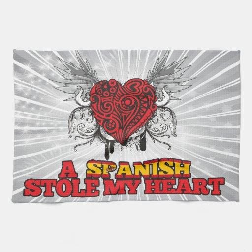 Un español robó mi corazón toalla