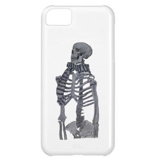 Un esqueleto y su bufanda