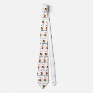 Un esquema de mi tripa (humor del sistema corbata personalizada