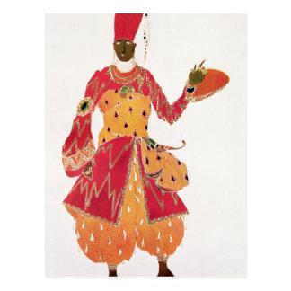 Un eunuco, del ballet 'Scheherazade Postal
