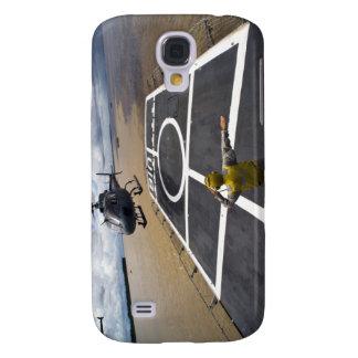 Un Eurocopter brasileño se prepara para aterrizar Samsung Galaxy S4 Cover