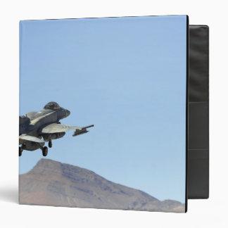 "Un F-16E de los United Arab Emirates Carpeta 1 1/2"""