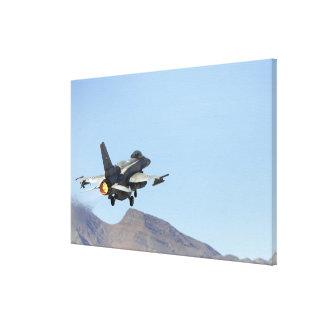 Un F-16E de los United Arab Emirates Impresión En Lienzo