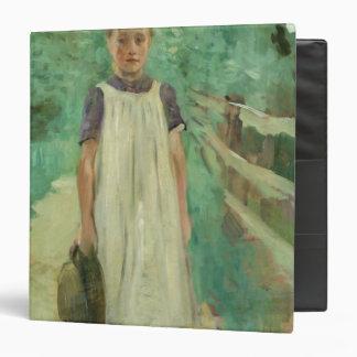 "Un Farmgirl, 1895 Carpeta 1 1/2"""