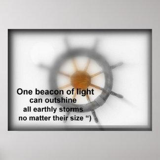 Un faro de luz poster