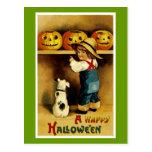 Un feliz Halloween Postales