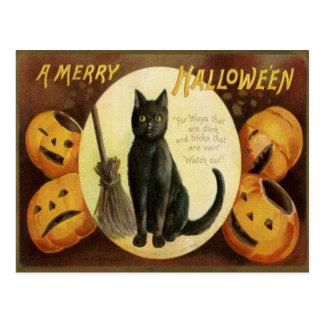 Un feliz Hallowe'en Tarjetas Postales