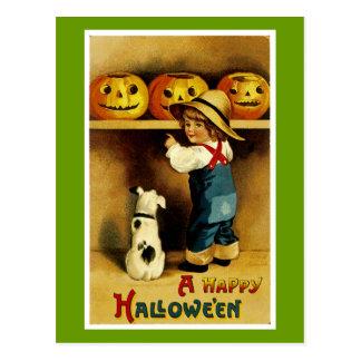 Un feliz Halloween Tarjetas Postales