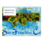 Un feliz X'mas de San Francisco Postal