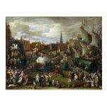 Un festival en Amberes Postal