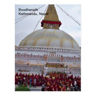 Un festival en Boudha Stupa Postal