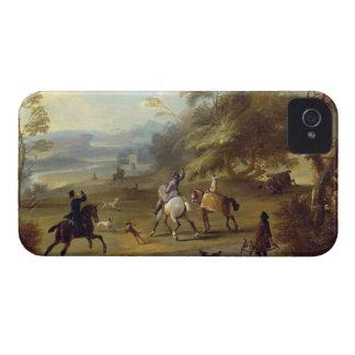 Un fiesta Hawking, c.1690 (aceite en lona) Case-Mate iPhone 4 Funda
