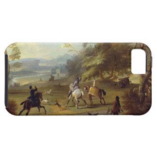 Un fiesta Hawking, c.1690 (aceite en lona) iPhone 5 Carcasa