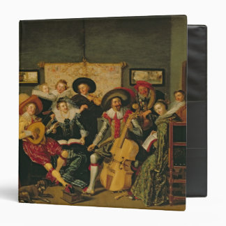 "Un fiesta musical, c.1625 carpeta 1 1/2"""