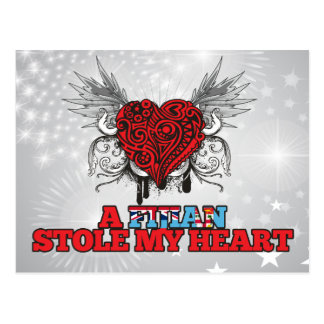 Un Fijian robó mi corazón Postales