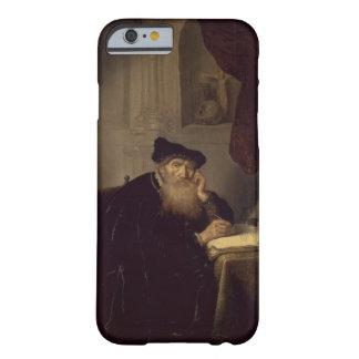 Un filósofo, 1635 (aceite en el panel) funda barely there iPhone 6