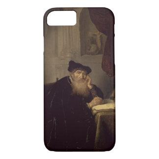 Un filósofo, 1635 (aceite en el panel) funda iPhone 7