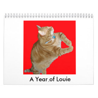 Un ~ fino del fandango al año de Louie Calendario