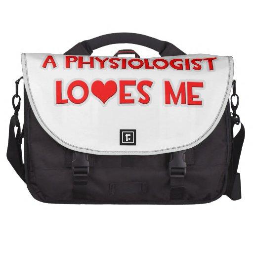 Un fisiólogo me ama bolsas para ordenador