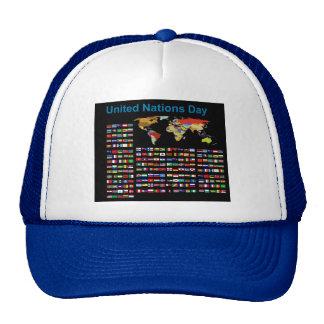 UN Flags for Trucker Hat