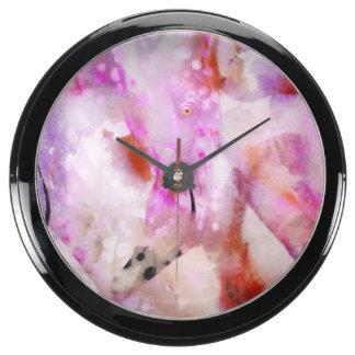 Un flamenco relojes acuario