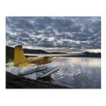 Un floatplane en el lago escénico 2 Takahula Postales