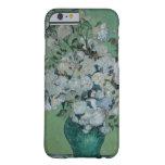 Un florero de rosas, 1890 (aceite en lona) funda de iPhone 6 barely there