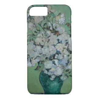 Un florero de rosas, 1890 (aceite en lona) funda iPhone 7