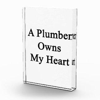 Un fontanero posee mi corazón