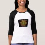 Un fractal de la llama camisetas