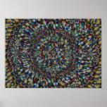 Un fractal de una ocasión (impresión de la lona) impresiones