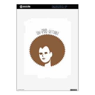 Un-Fro-Gettable iPad 2 Skins