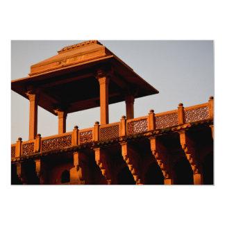 """Un fuerte en Agra Invitación 5"""" X 7"""""""