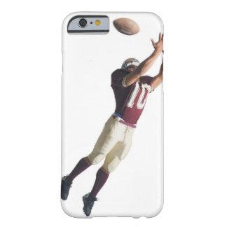 un futbolista afroamericano en un rojo y funda barely there iPhone 6
