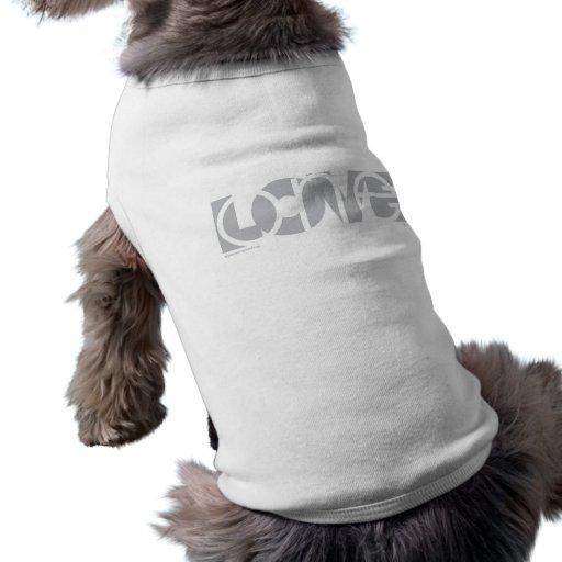 Un (G) del amor Camisa De Mascota