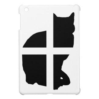 Un gato con la bandera de Cornualles
